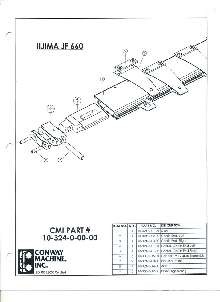 IIJIMA JF 660
