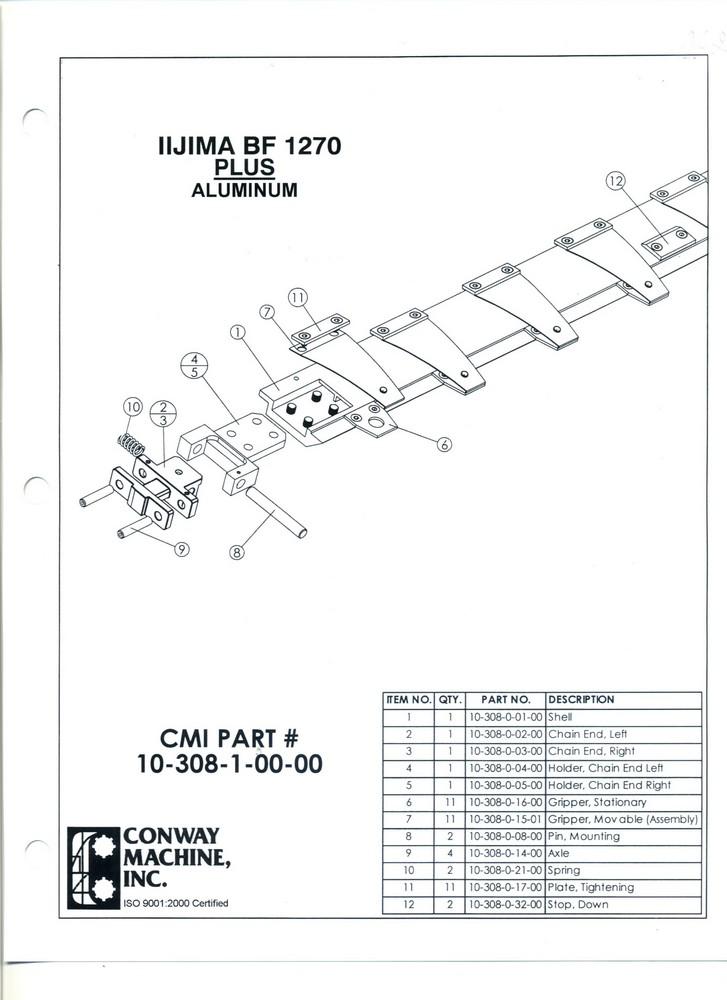IIJIMA BF 1270  PLUS Aluminum