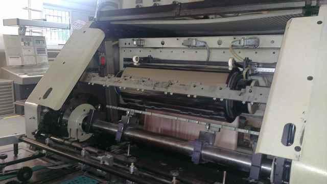 Maszyna sztancująco/złocąca (hologram) Gietz FSA 790