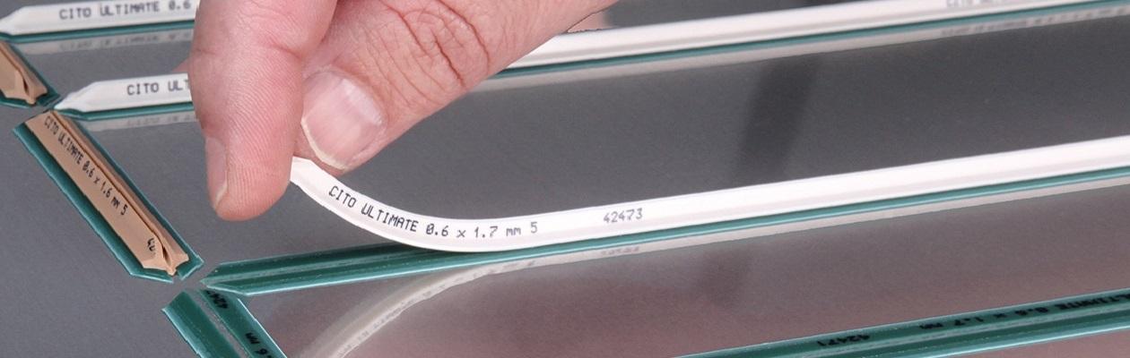INTERAS - materiały do sztancowania płaskiego i rotacyjnego. Kontrbigi, linie bigujące CITO-System.