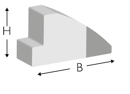 Profile gumowe C/3
